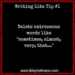 Writing Lite Tip #1