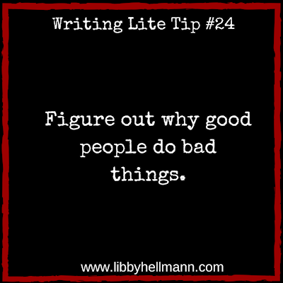 Figure out why good people do bad things.