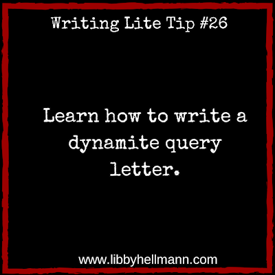 Learn how to write a dynamite query letter.