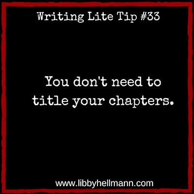 Writing Lite Tip #33
