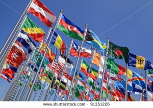 stock-photo-brazil-argentina-and-world-national-flags-is-flying-91351226