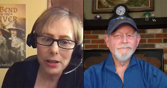 Libby Hellmann and Kent Krueger